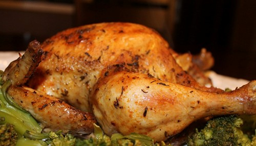 Tender Baked Golden Brown Chicken