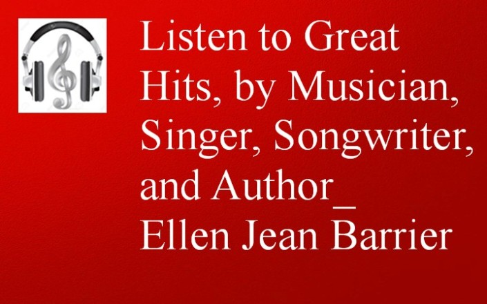 Ellen Jean Barrier Musician, Singer,  Songwriter and Author
