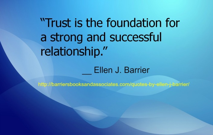 Building Upon the Foundation of Trust